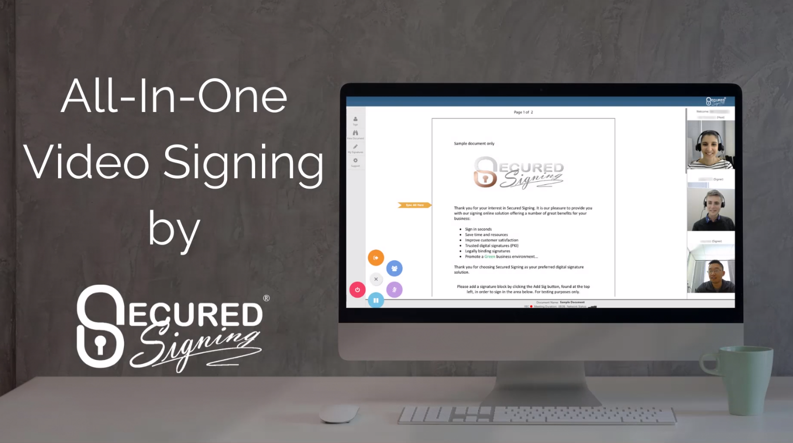 Learn how to turn on Video Signing